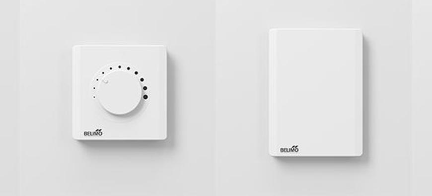 Slim én stijlvol: dit zijn de nieuwe room sensors van Belimo